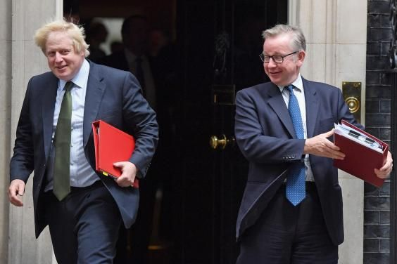 Boris Johnson and Michael Gove should be in prison over Brexit 'lies'   and in three or four years' time, people will be 'kicking themselves' for leaving the EU