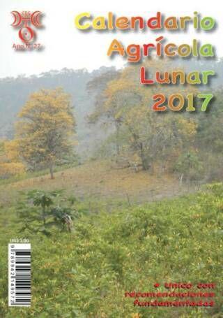 Calendario Agricola Lunar 2016 2017