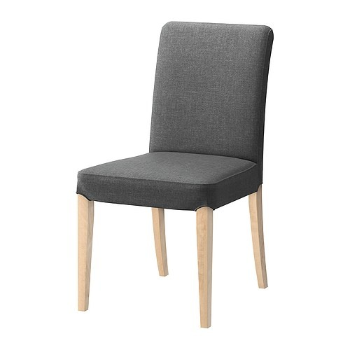 Future dining chairs - since the table is so light , I like the dark grey as a contrast