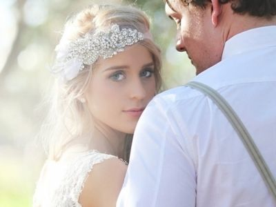 10 Lovely Wedding Headpiece Ideas To Make you a Beautiful Bride …