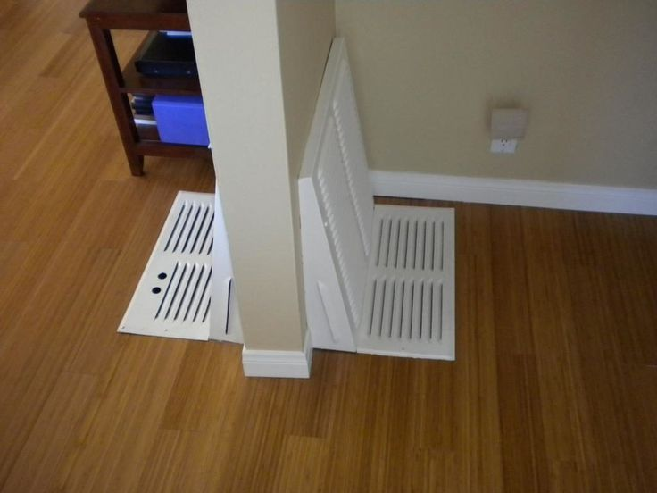 Update/paint floor furnace cover