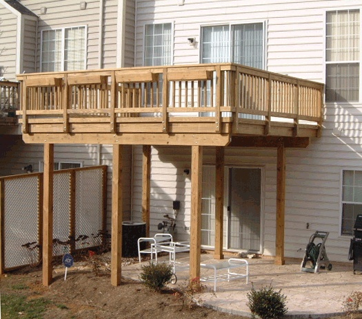 Cheap Townhouses: Townhouse Deck - Google Search