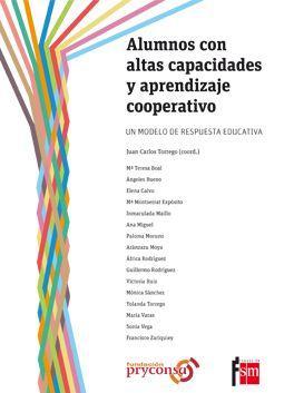 """Portada del libro """"Alumnos con altas capacidades y aprendizaje cooperativo""""."""