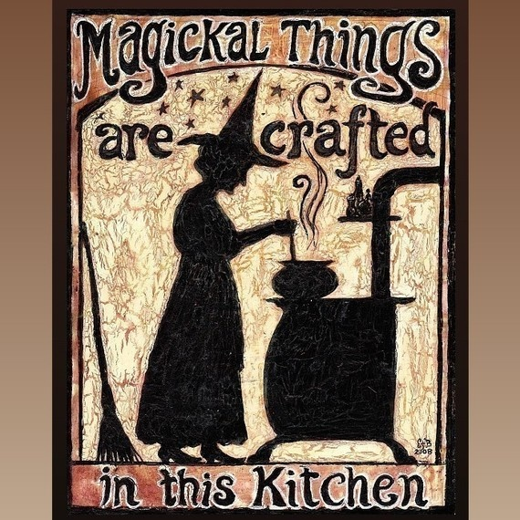 want this for my kitchen: Halloween Parties, Halloween Stuff, Books Jackets, Kitchens Signs, Magick Things, Magic Things, Kitchenwitch, Paper Crafts, Kitchens Witchery