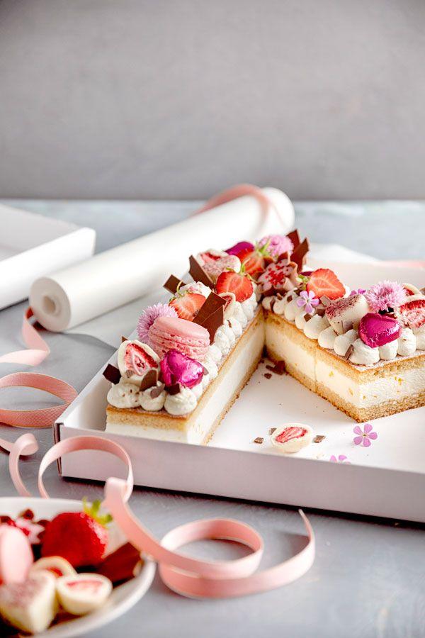Letter Cake Einfach Hubsch Und Voll Im Trend Kuchen Und Torten Hubsche Kuchen Kuchen Und Torten Rezepte