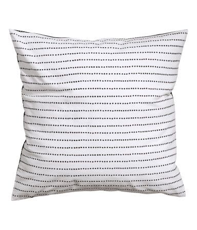 Cotton Cushion Cover Product Detail   H&M US