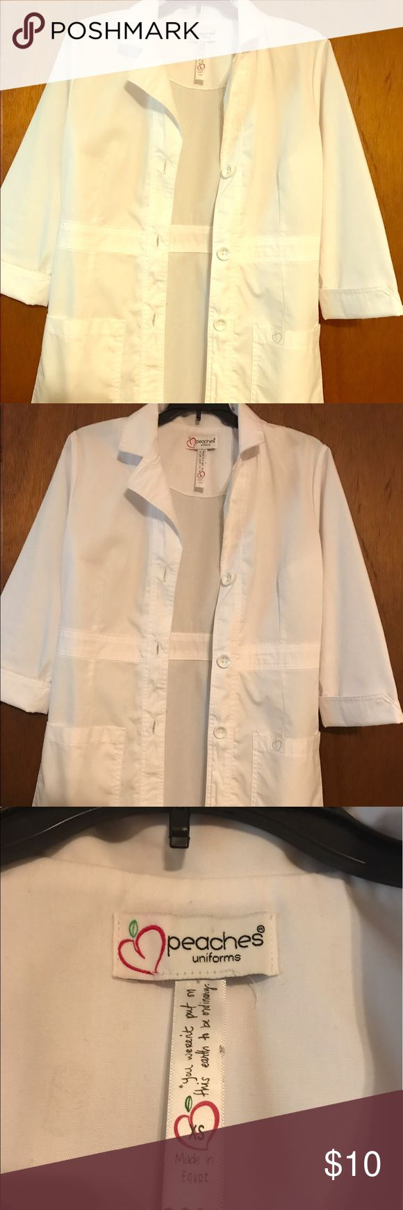 White lab coat Worn once! In perfect condition! Jackets & Coats