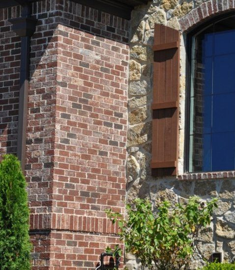 New Construction Brick Home: BUILDING PRODUCTS > Brick