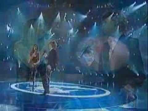 I've always loved this song...but this was my favourite Canadian Idol season (and probably the last season I watched). Kalan Porter and Theresa Sokyrka.