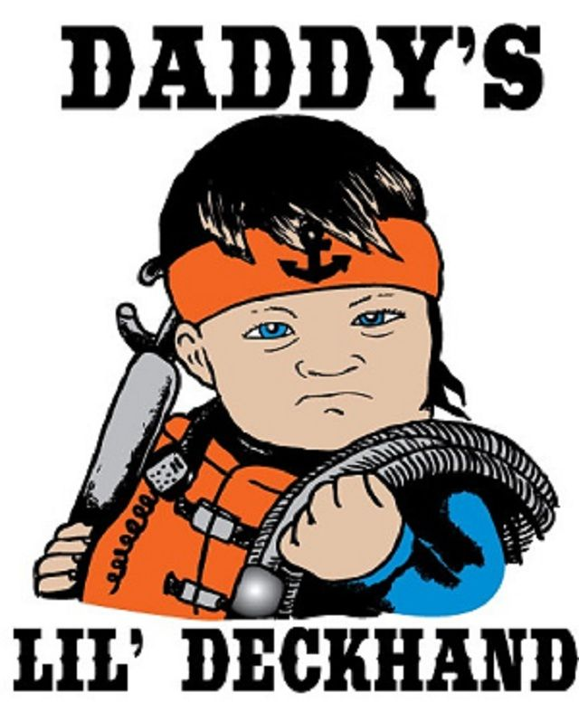 Daddy's Deckhand - Boy, Hennepin Boat Store  Visit our new sign shop!