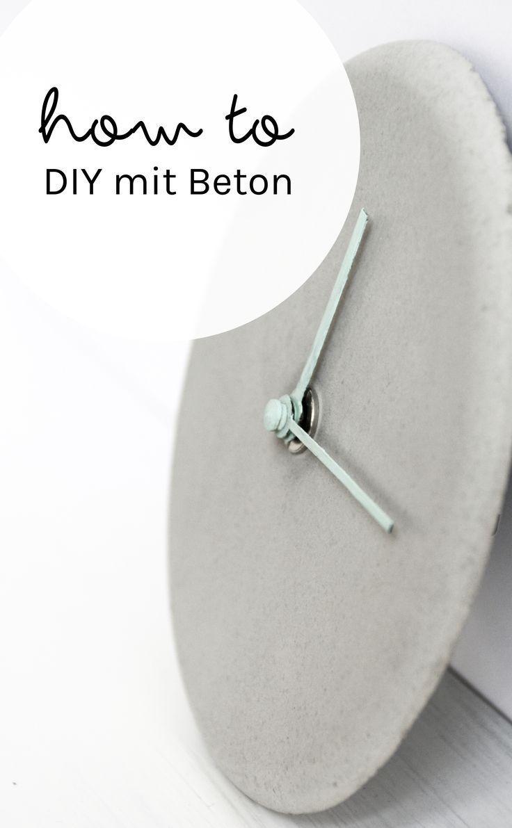 how to: Tipps fürs Basteln mit Beton