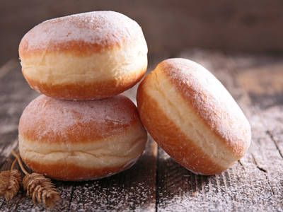 These Polish donuts disappear really quickly if you�re not careful. Fill them up or top them off with different things and enjoy!