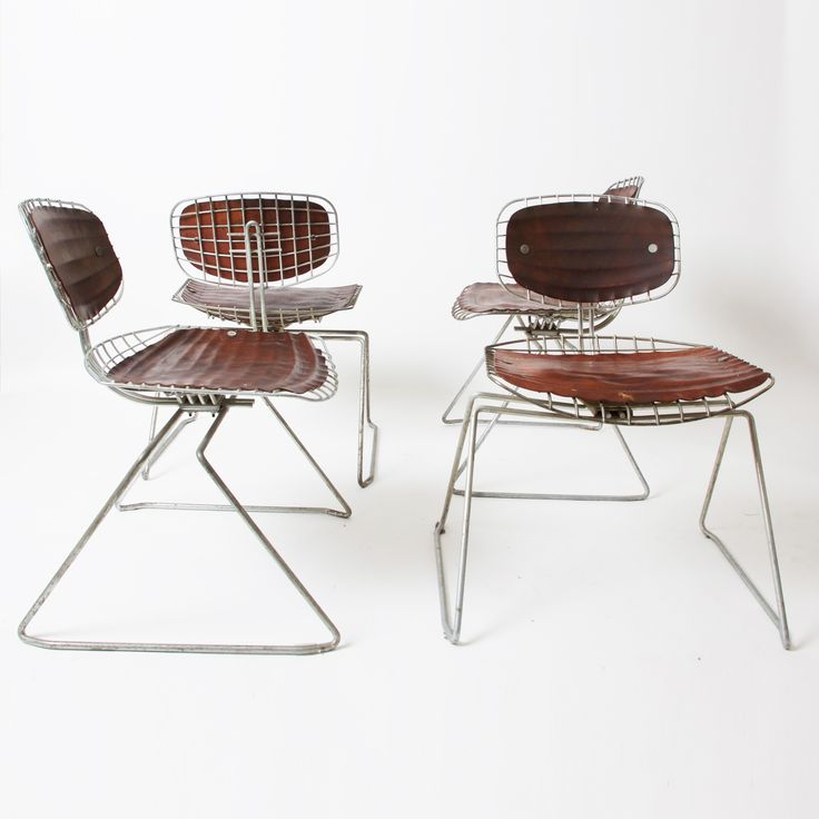 View This Item And Discover Similar Chairs For Sale At   Michel Cadestin  Leather And Metal Beaubourg Chairs, Design In 1976 For Centre Georges  Pompidou, ...
