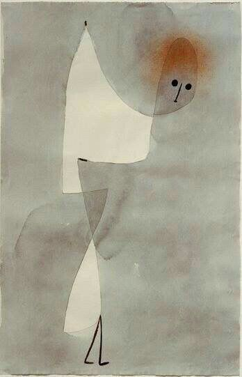 Paul Klee - 'Dance Position' - (1935)