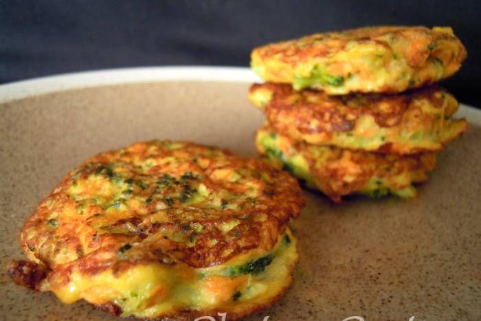 Receta de Tortitas de brócoli y zanahoria (por platoypostre)