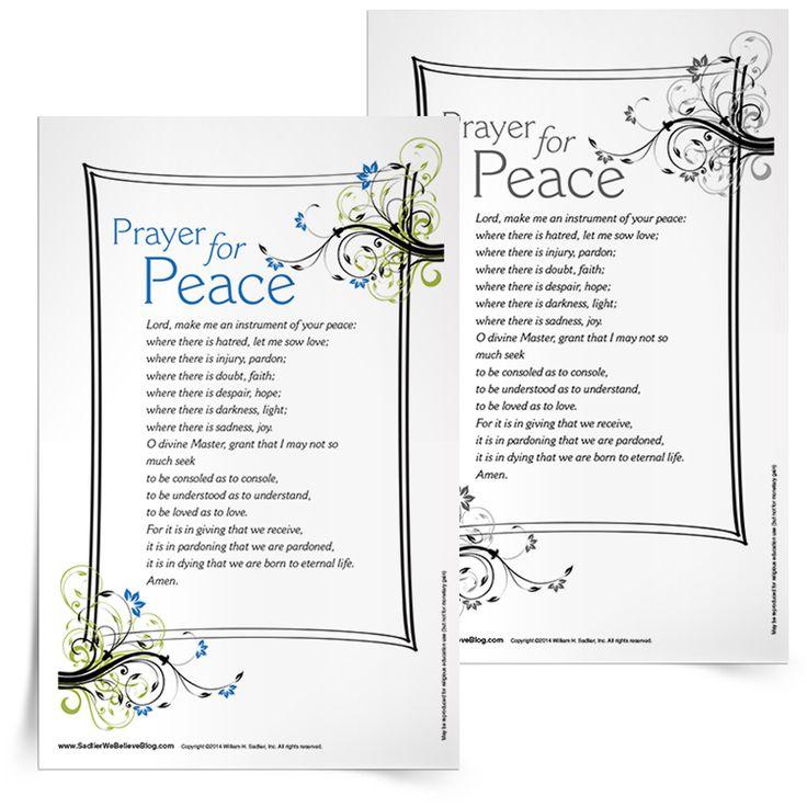 Best 25+ Prayer of saint francis ideas on Pinterest