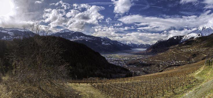 Valais - the valley - Switzerland