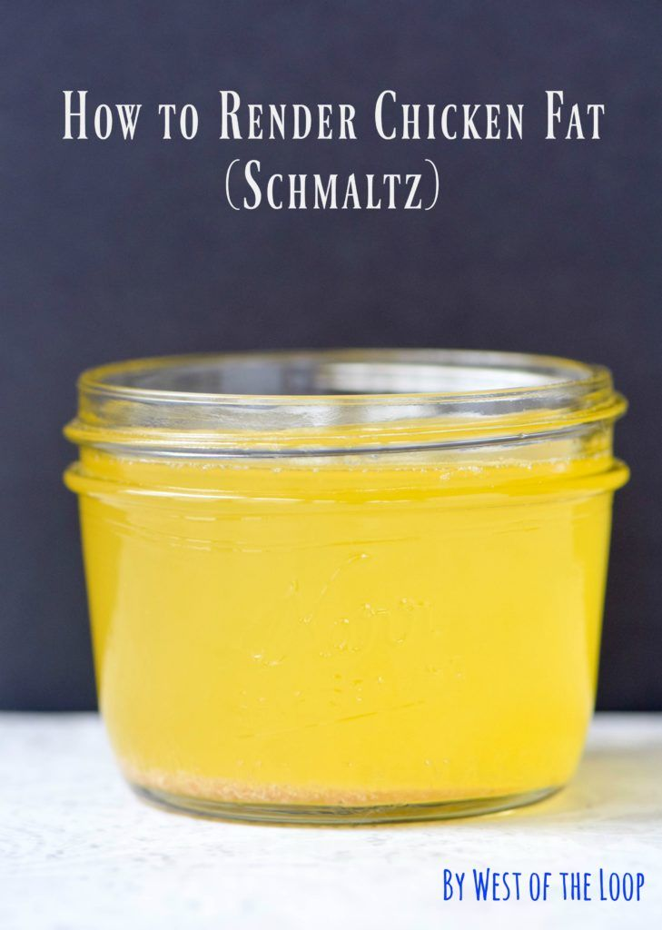 Schmaltz or rendered chicken fat is a must for Jewish cuisine and makes amazing roasted vegetables. Learn how to make your own in this step-by-step tutorial.