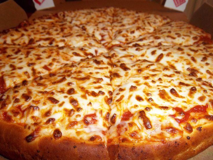 Dominos mozzarella cheese and tomato pizza