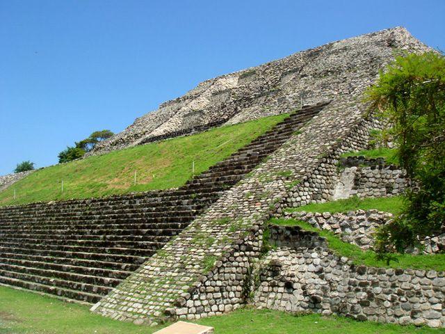xochicalco | The steep stone steps of Mexico's Xochicalco pyramids prove worth the ...