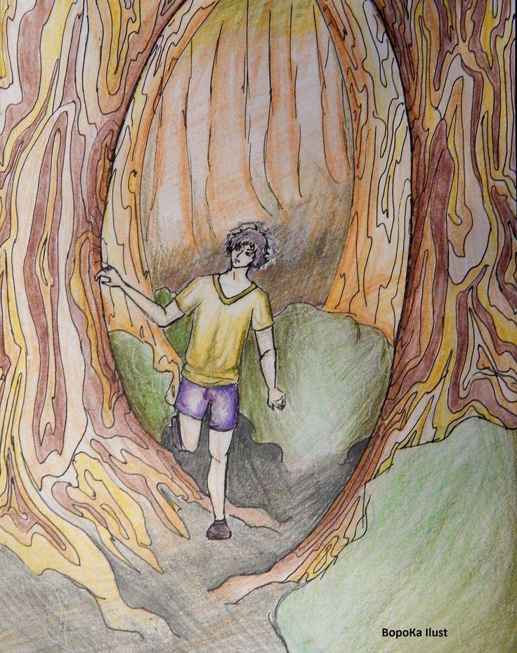 #Illustrations #Иллюстрация #сказка #лес #art #ВороКа #VoroKa