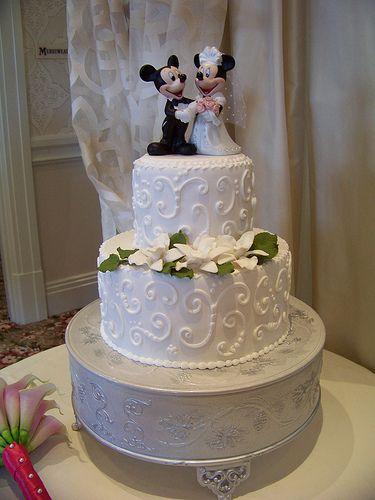 disney elegant scrolls cake | Disney Wedding Cakes | Walt Disney World For Grownups