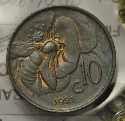 Italia, 10 centesimi 1921