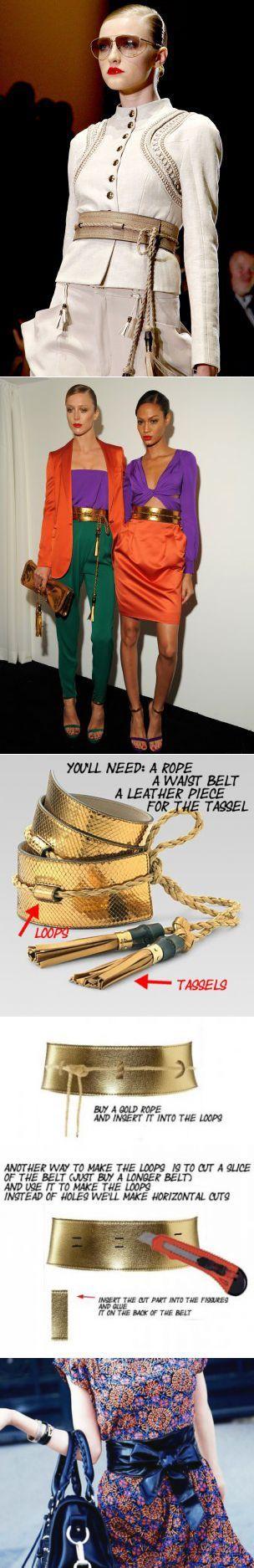 Как сшить женский пояс оби - кушак: выкройка c описанием | Hand made_Рукоделие. Сделай сам! | Постила