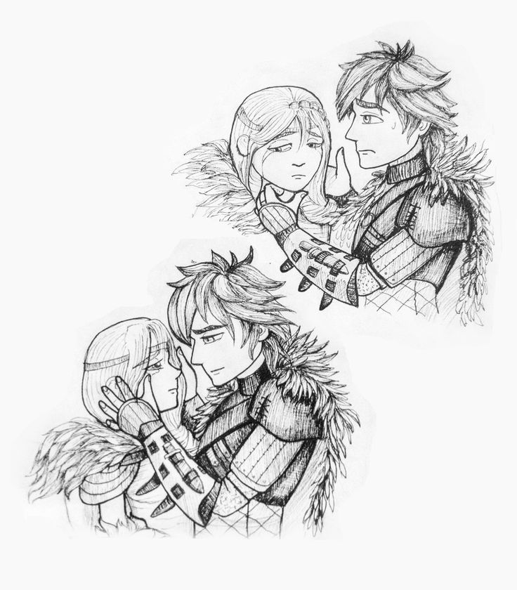 Hiccup and Astrid T_T #HTTYD #Hiccstrid