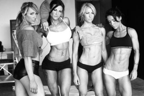 Факты о девушках тренирующихся с железом.   Школа красоты