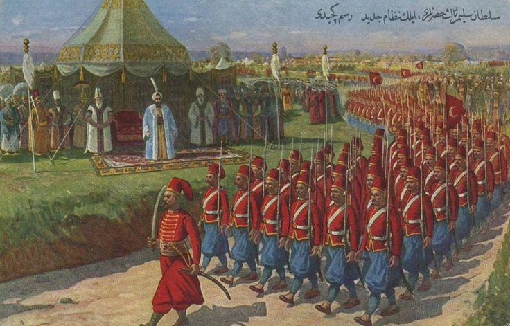 Ottoman Empıre Nizam Al-Jadid Army-Sultan Selim III