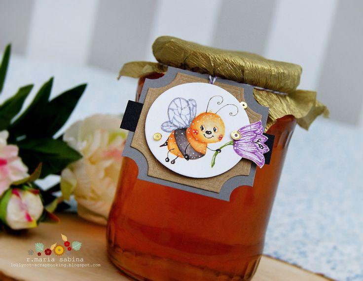 Lollyrot Scrapbooking: Honey Bee