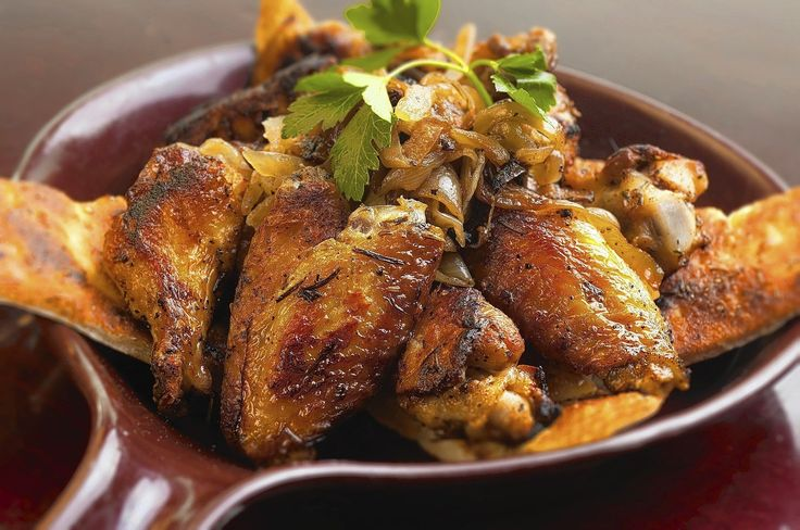 The oven roasted wings are a specialty at Anthony's Coal Fired Pizza, and a popular recipe request