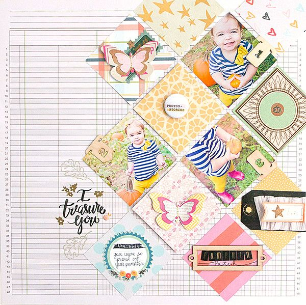 Page created by design team member Erin Stewart with our Shake It Off kit