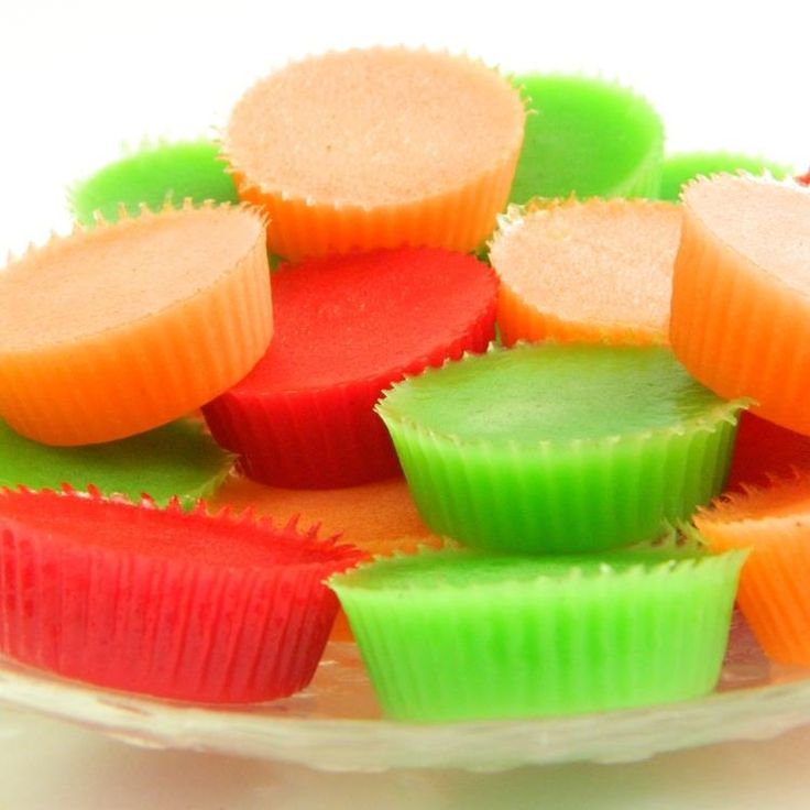 Sugar Free Gummy Candy. So this means I can eat all I want, right?! Off to buy sugar free jello tomorrow to try this.