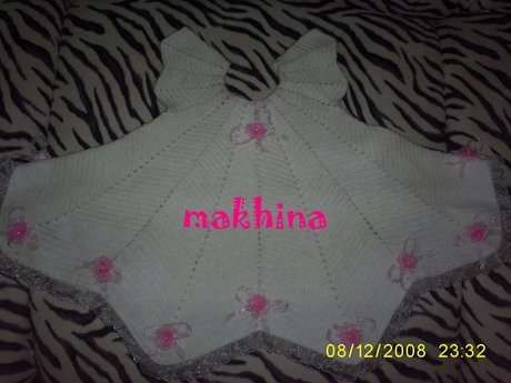 tığ işi bebek elbisesi – 10marifet.org