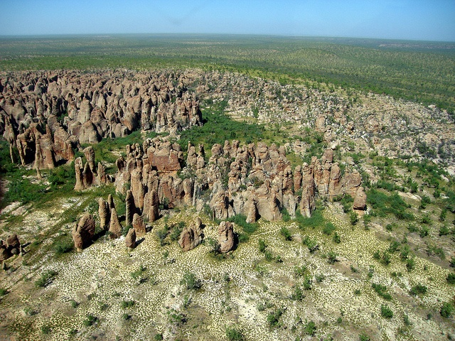 The Lost City - Abner Ranges situated on McArthur River Station, Gulf of Carpentaria region of Northern Territory, Australia