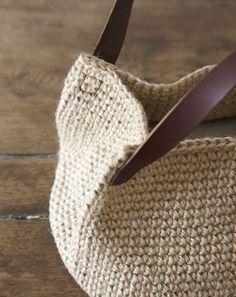 Saco alça de couro   receitas loja da Cidade do handmade   handmade Cidade   NIHON VOGUE