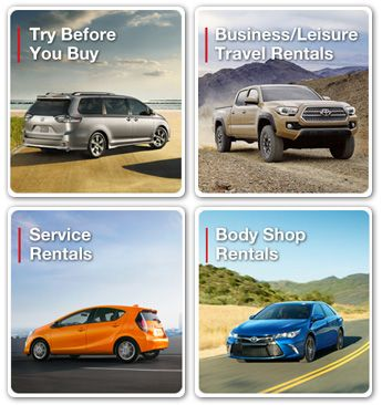 Toyota Rent a Car #european #car #rental http://rental.remmont.com/toyota-rent-a-car-european-car-rental/  #us rental car # About Us Rent the latest Toyota models at your nearest participating dealer. Why go anywhere else when you can rent directly from Toyota? Available exclusively through participating Toyota dealers, Toyota Rent a Car utilizes only the latest model Toyota vehicles, making it a superior rental experience. Whether you need a car...