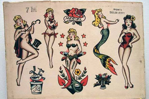 Pin up e sirene: le donne di Sailor Jerry