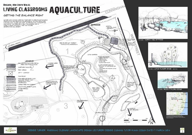 """Bingara """"Living Classrooms"""" Aquaculture Concept - (page 1 of 1) by Debbie Turner Semester 1 2014"""