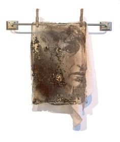 Photo transfer plus creative use of found objects -Sally mankus