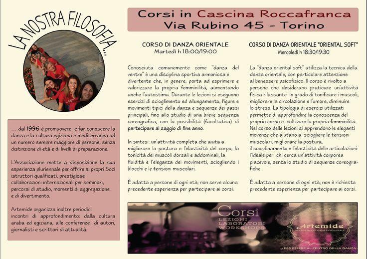 DANZA DEL VENTRE ALLA CASCINA ROCCAFRANCA TORINO! #ArtemideDanza #corsi #Torino #danzaorientale #bellydance #danzadelventre