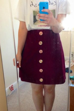 Rhian's Delphine skirt - sewing pattern in Love at First Stitch