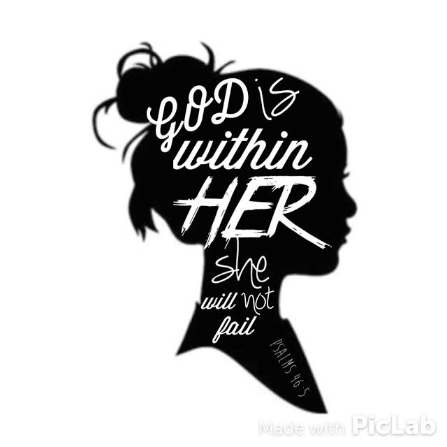 Free Inspirational Printable: God is Within Her She Will Not Fail {Psalm 46:5}