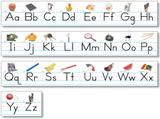"Checkout the ""Alphabet Lines - Traditional Manuscript with Pictures"" product"