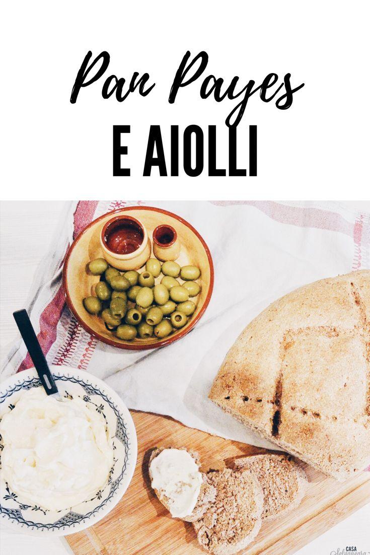 Balearische Köstlichkeiten - Bauernbrot und Knoblauchcreme PAN PAYES E AIOLLI