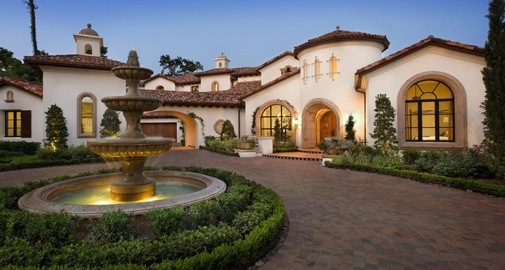 Lake conroe spanish the spanish style influence makes for Spanish style homes for sale in dallas tx