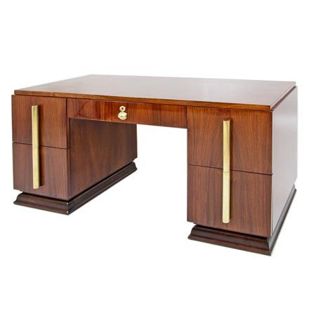 Desk, Art Deco, France, um 1920