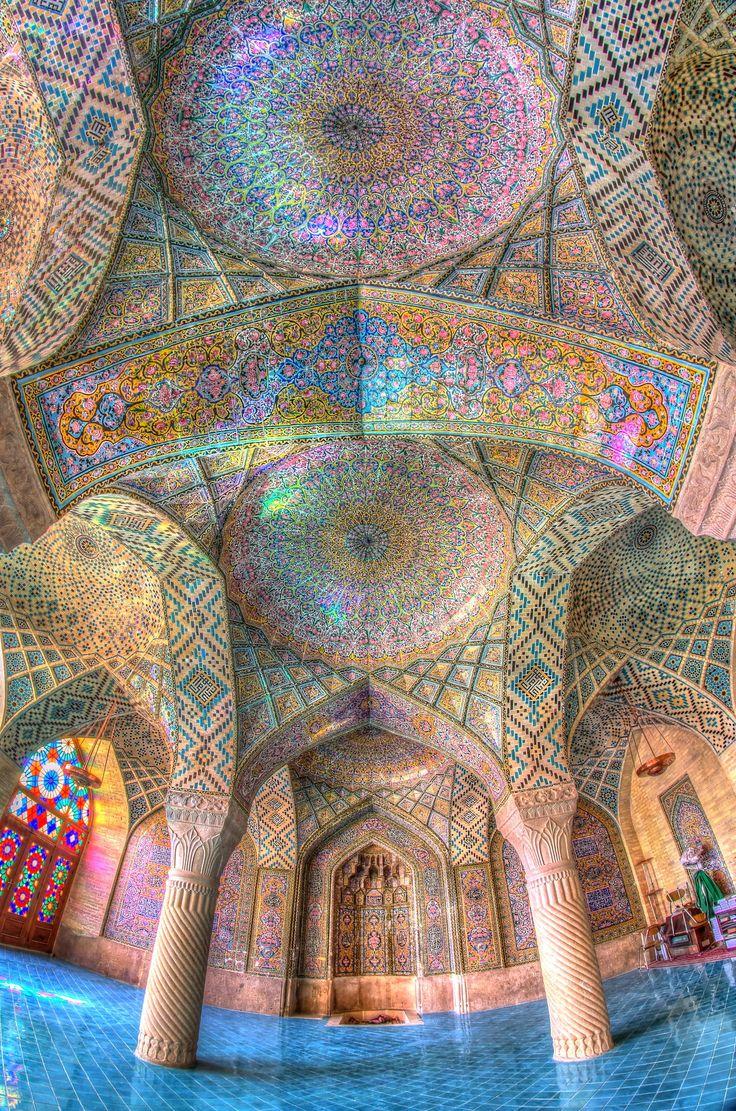 Mosque of Colors by Ramin Rahmani Nejad on 500px. Nasir al Molk Mosque, Shiraz, Iran.